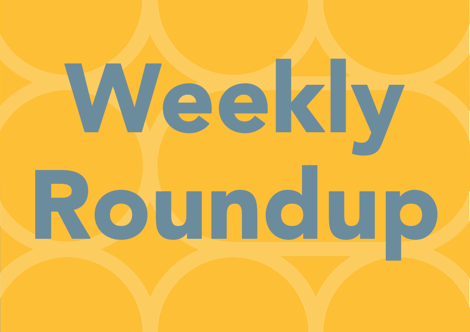 Weekly Roundup 2nd August 2020